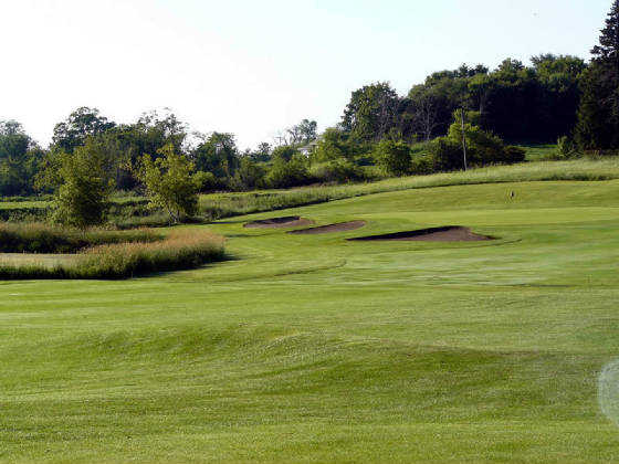 A view from the Rock course at Albion Ridges Golf Club.