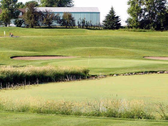 A view from the Granite course at Albion Ridges Golf Club.