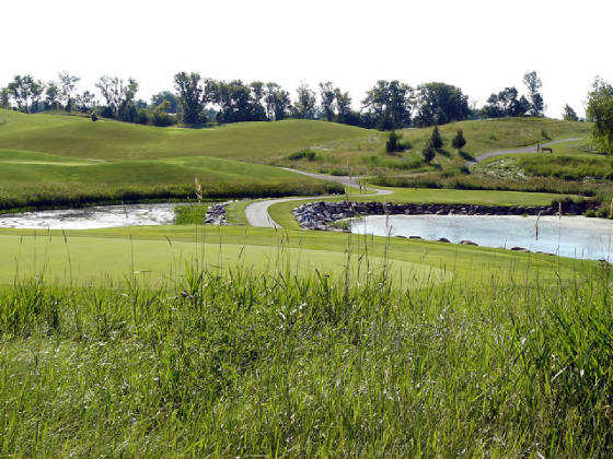 A view from the Boulder course at Albion Ridges Golf Club.