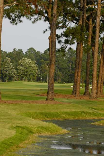View of a green at Gulf Shores Golf Club