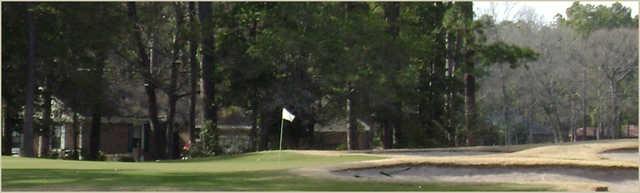 A view of a green at Carolina Shores Golf Club