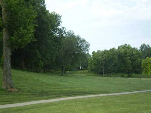 A view of the 1st green at Oak Country Club.