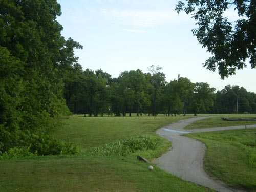 A view of the 4th green at Oak Country Club.