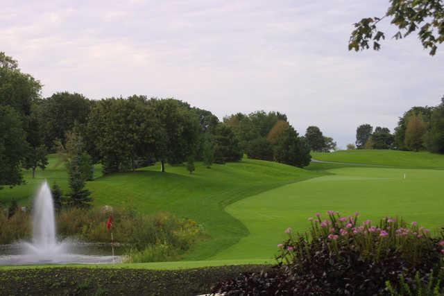 A view from Arrowhead Golf Club