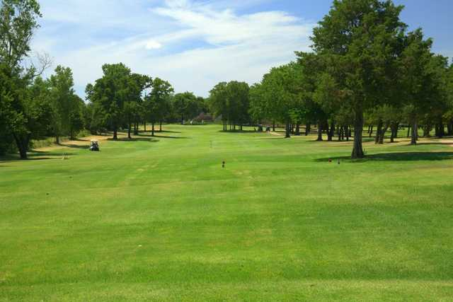 A view from Choctaw Creek Golf Course.