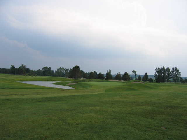 A view from Springwater Golf Course