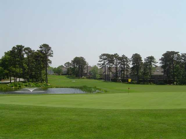 A view of hole #14 from Kings Way Golf Club