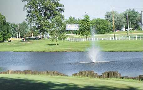 A view from Country Oaks Golf Club