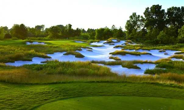 Harbor Shores: View from the 2nd hole