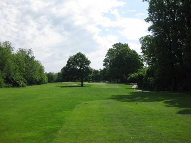 A view from tee #8 at Sarah Shank Golf Course
