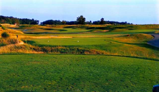 A view from tee #7 at Noble Hawk Golf Links