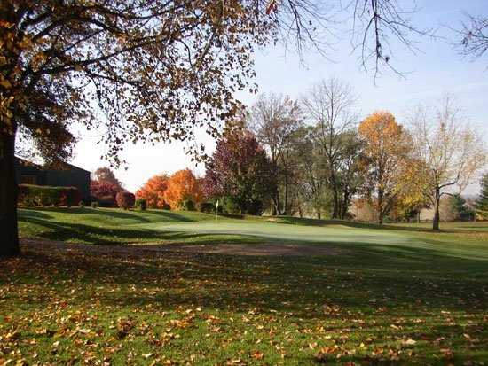 A fall view from Seymour Country Club