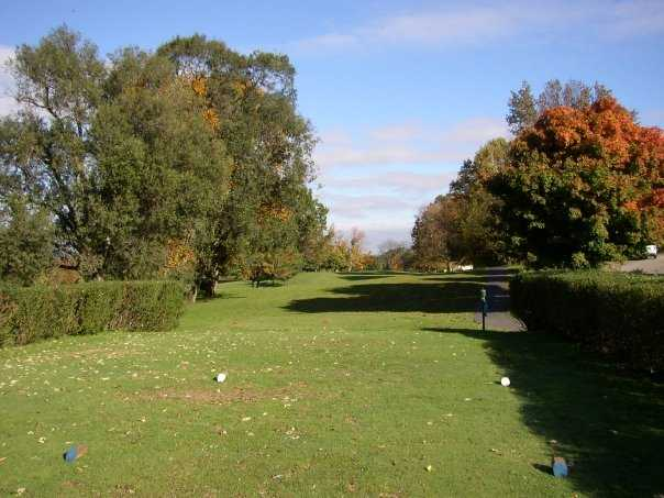 A view from tee at Seymour Country Club