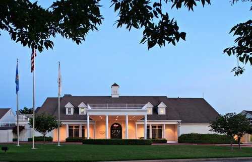 A view of the clubhouse at Forest Ridge Golf Club