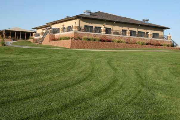 A view of the clubhouse at Tiburon Golf Club