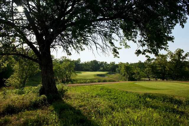 A view of green #5 at Stone Canyon Golf Club (Dick Durrance II)