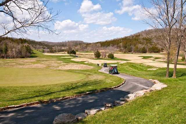 A sping view from Old Kinderhook Golf Course