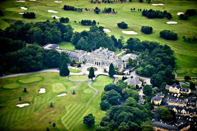 Aerial view from Faithlegg Golf Club