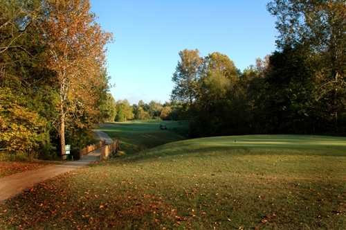 A fall view from Crescent Farms Golf Course