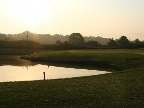 A view of hole #2 at Aberdeen Golf Club