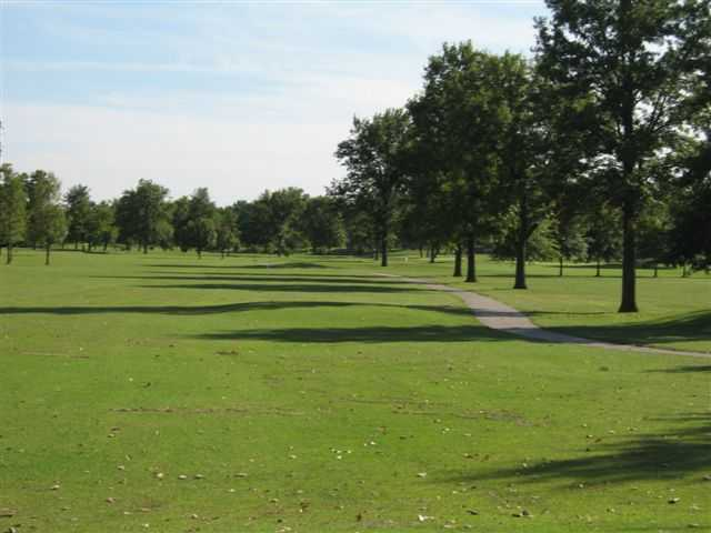 A view of hole #15 from Eighteen Course at Riverside Golf Club