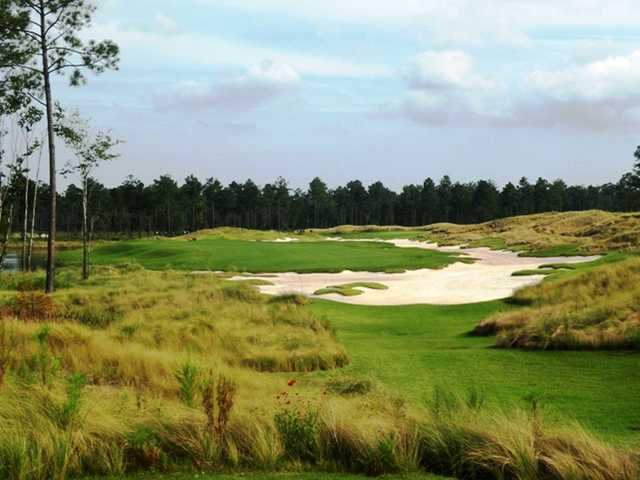 A view from No. 4 at Cape Fear National