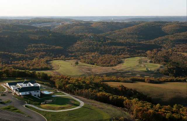 Aerial view from Buffalo Ridge Valley Course