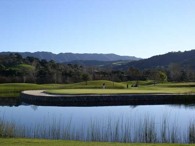 View from The River Course at Alisal