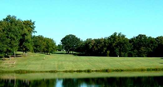 A view from New Melle Lakes Golf Course