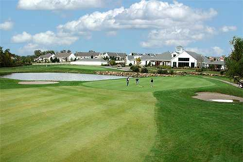 A view of the clubhouse from Links At Dardenne