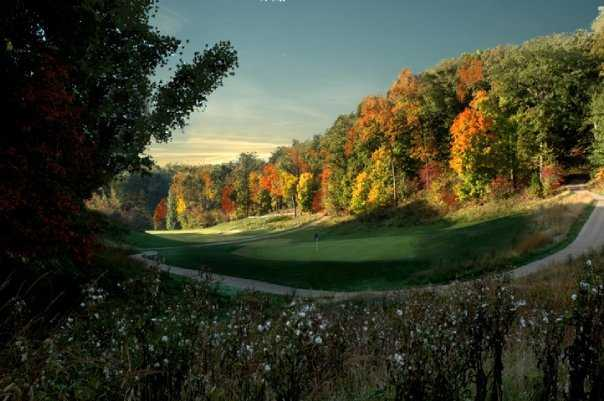 A view of hole #15 at Missouri Bluffs Golf Club
