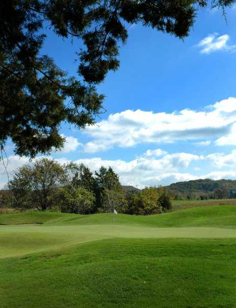 A view of green at Pevely Farms Golf Club