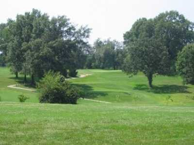 A view of a green at Ruth Park Golf Club.