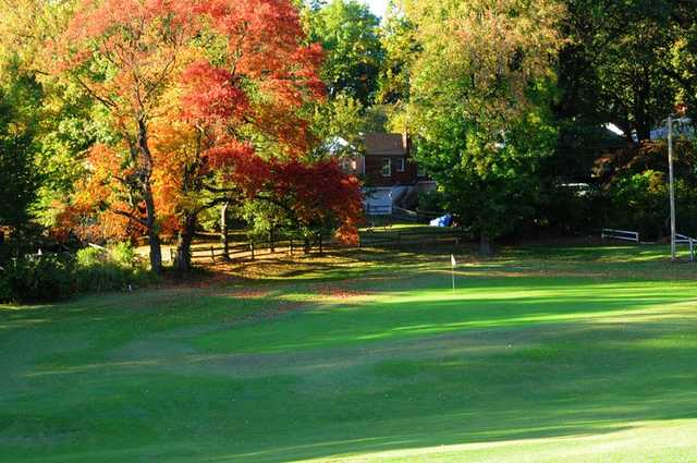 A fall view from Normandie Golf Course
