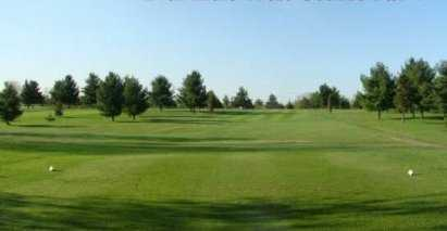 A view from the 16th tee at West Course from Rogues Roost Golf & Country Club