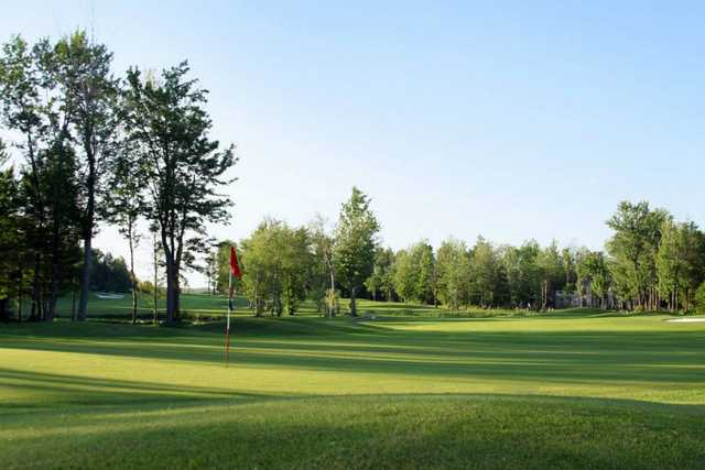 A view of hole #4 at Le Royal Bromont