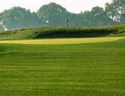 A view of a green at Sullivan Golf Club