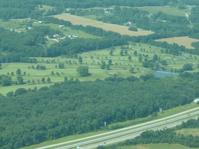 Aerial view from Country Lake Golf Club