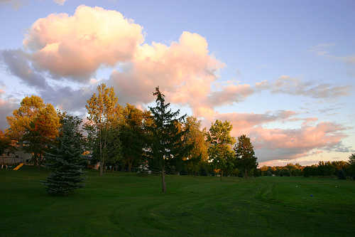 A view from Celina Lynx Golf Club