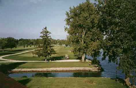 A view from Northmoor Golf Club