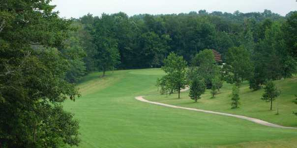 A view of the 5th hole at St. Denis Golf Course