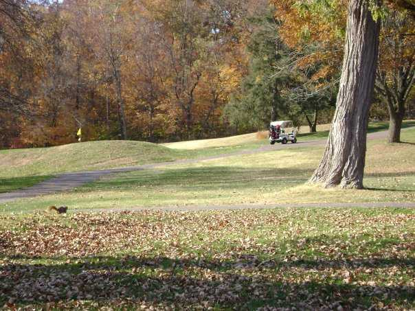 A fall view from Chillicothe Country Club