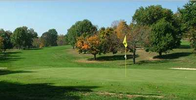 A view of green at Chillicothe Country Club