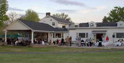 A view of the clubhouse at Chillicothe Country Club