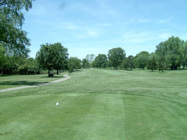 A view from tee #9 at Hidden Creek Park Golf Club