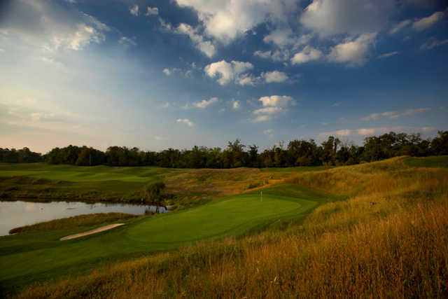 A view of the 1st hole at Ivy Hills Country Club