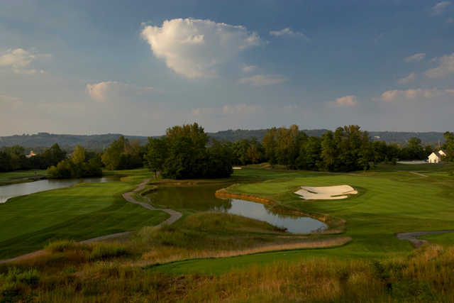 A view of holes #7 and #8 at Ivy Hills Country Club