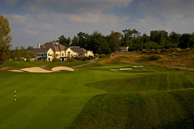 A view from fairway #9 at Ivy Hills Country Club