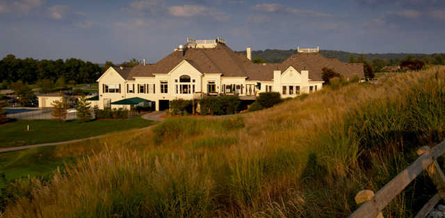 A view of the clubhouse at Ivy Hills Country Club