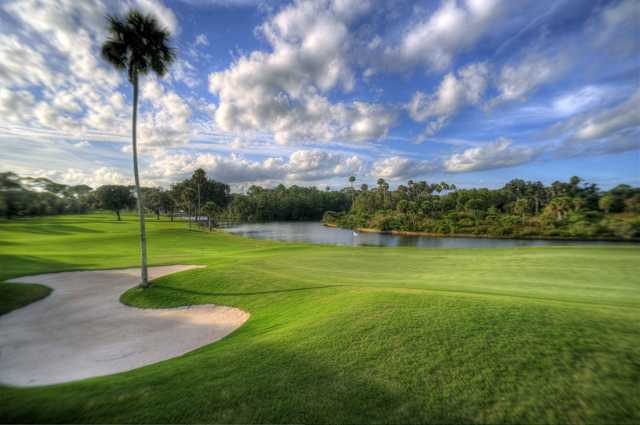 View from No.1 at Palm Harbor GC